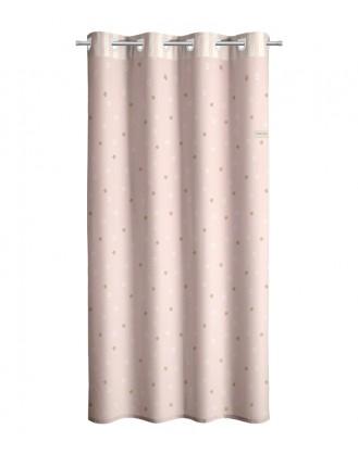 ΠΑΙΔΙΚΗ ΚΟΥΡΤΙΝΑ ΜΕ ΤΡΟΥΚΣ 1.65x2.50Μ SAINT CLAIR - STARLIGHT PINK
