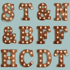 ΤΑΠΕΤΣΑΡΙΑ ΤΟΙΧΟΥ ESTA HOME FAB - LIGHT LETTERS VINTAGE BLUE & SEPIA