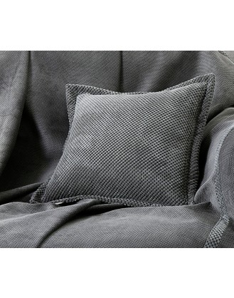 ΜΑΞΙΛΑΡΙ ΦΙΓΟΥΡΑΣ 42x42cm GUY LAROCHE - RUBICON ANTHRACITE