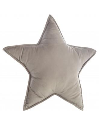 ΒΡΕΦΙΚΟ ΔΙΑΚΟΣΜΗΤΙΚΟ ΜΑΞΙΛΑΡΙ 49x49cm  - GREY STAR