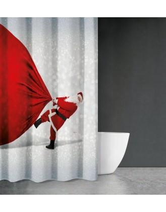 ΚΟΥΡΤΙΝΑ ΜΠΑΝΙΟΥ 180x200cm SAINT CLAIR - CHRISTMAS 409