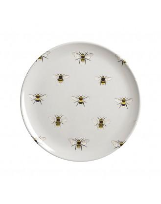 ΠΙΑΤΟ ΜΕΛΑΜΙΝΗΣ Δ20.3cm SOPHIE ALLPORT - BEES