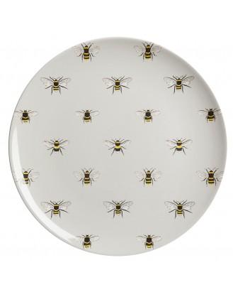 ΠΙΑΤΟ ΜΕΛΑΜΙΝΗΣ Δ25.4cm SOPHIE ALLPORT - BEES