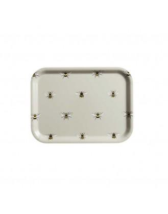 ΞΥΛΙΝΟΣ ΔΙΣΚΟΣ ΣΕΡΒΙΡΙΣΜΑΤΟΣ 27.2x20.2cm SOPHIE ALLPORT - BEES (SMALL)