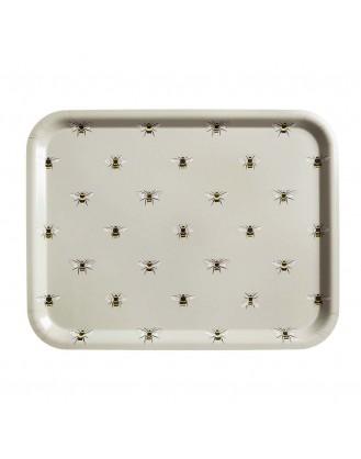 ΞΥΛΙΝΟΣ ΔΙΣΚΟΣ ΣΕΡΒΙΡΙΣΜΑΤΟΣ 43.2x33.2cm SOPHIE ALLPORT - BEES (LARGE)