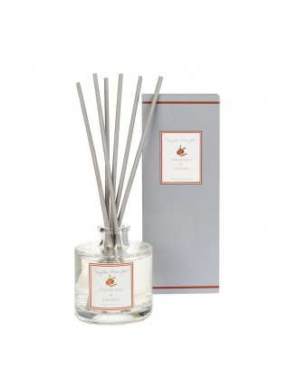DIFFUSER ΑΡΩΜΑΤΙΚΟΥ ΧΩΡΟΥ 100ml SOPHIE ALLPORT - CINNAMON & ORANGE
